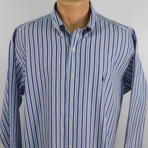 Ralph Lauren long sleeve button down. 16 1/2-34/35